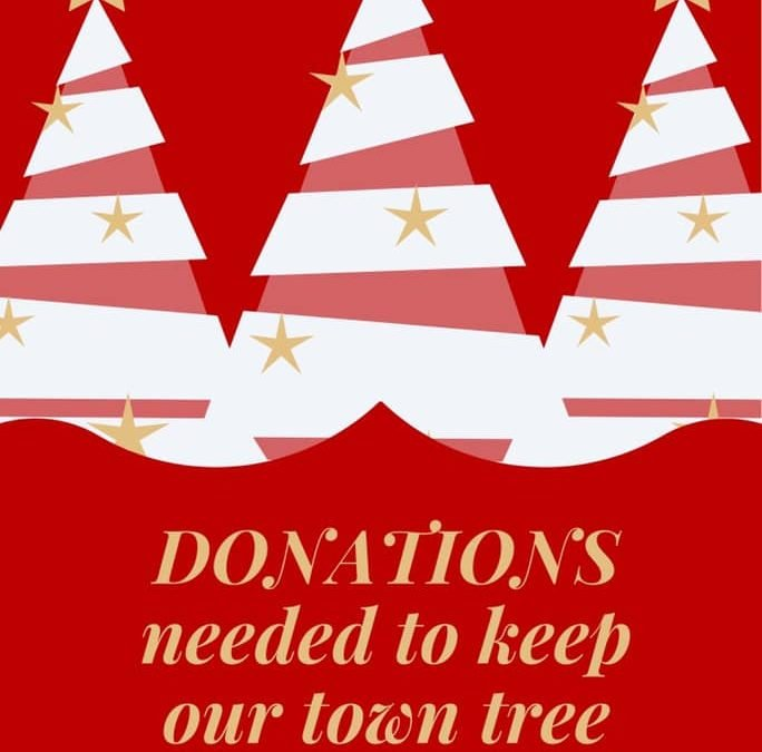 Donations Needed for Town Tree Lighting!